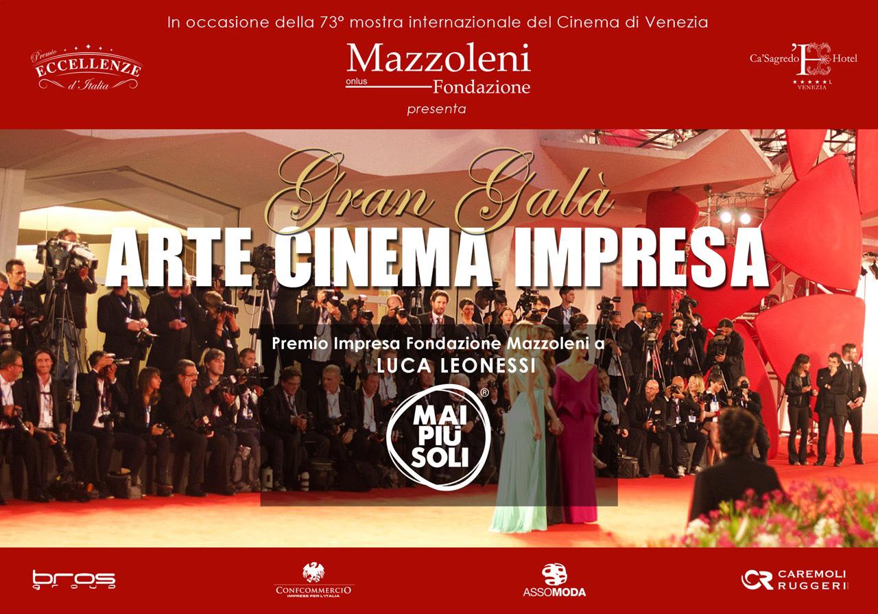 Gran Galà Arte Cinema Impresa 2016