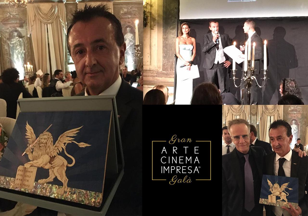 Luca Leonessi premiato con il Leone Alato